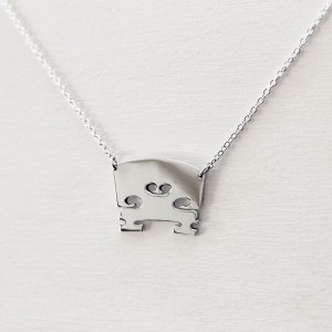 Violin Bridge Necklace