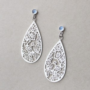 Carlene Wedding Earrings 1